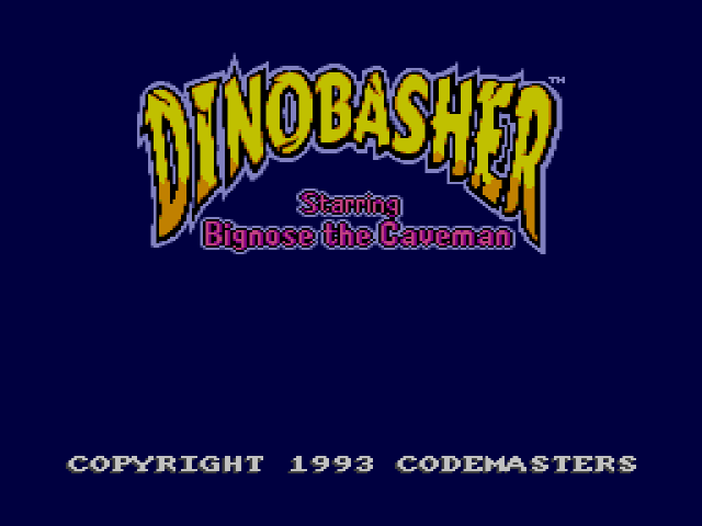 Dinobasher - Starring Bignose the Caveman