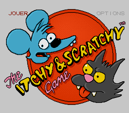 Itchy & Scratchy - The game