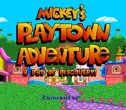 Mickey's Playtown Adventure