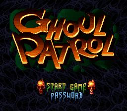 SNES-GhoulPatrol_Titre